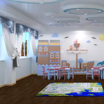 Дизайн интерьеров учебных и детских центров в Москве.