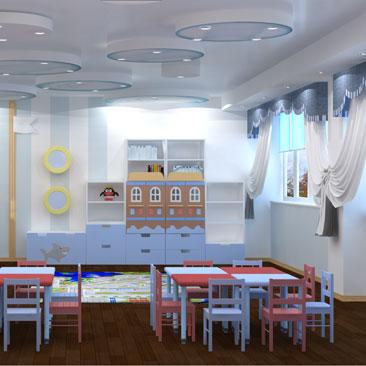 Дизайн детского сада на заказ в Москве.