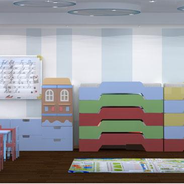 Дизайн детских общественных интерьеров Москва.
