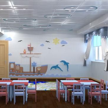 Дизайн детского центра Москва.