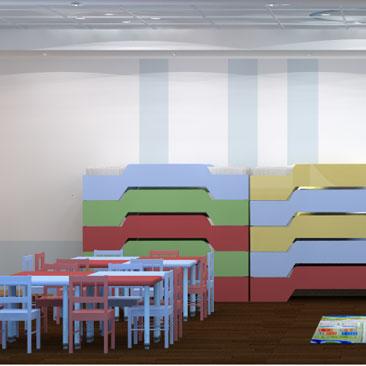 Дизайн детсада Москва.