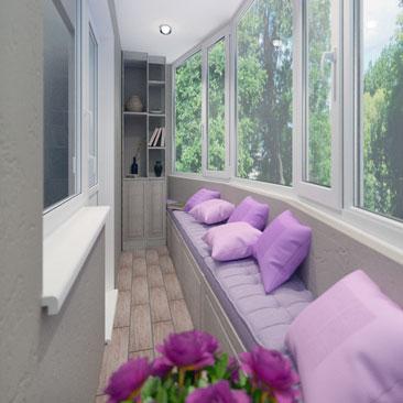 Дизайн балкона и лоджии.