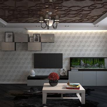 Дизайн-проект гостиной Москва.