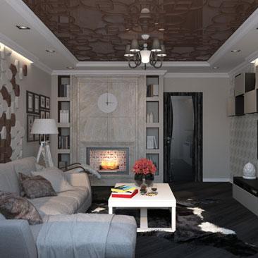 Проект гостиной Москва.