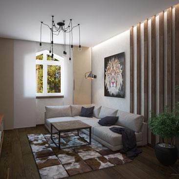 Дизайн гостиной в Воронеже.