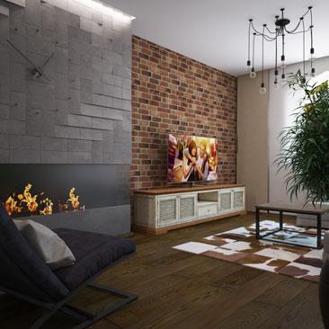 Дизайн гостиной Москва.