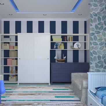 Детские комнаты - фото, дизайн и интерьер, идеи.