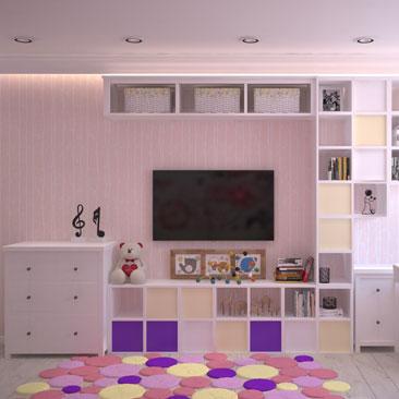 Детские комнаты для девочек — фото, дизайн, проекты, интерьеры.
