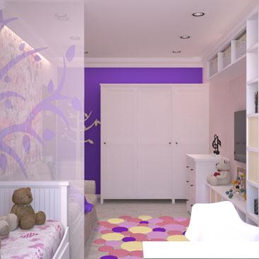 Дизайн детской: оригинальные идеи для оформления комнат для детей.