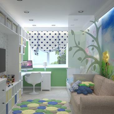 Детские комнаты — идеи и фото дизайна.