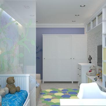 Дизайн детской комнаты - фото, проекты, идеи, интерьеры.