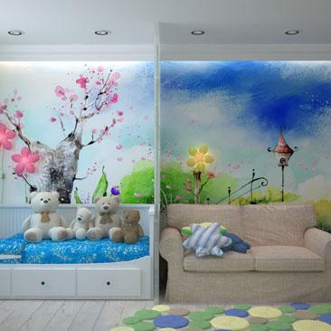 Дизайн детской комнаты - портфолио дизайнеров.