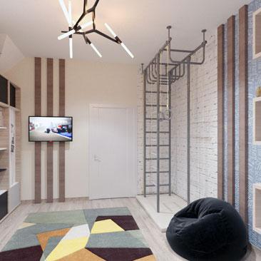 Дизайн интерьера детской комнаты Воронеж.