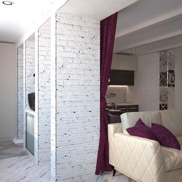 Закажите дизайн интерьера квартиры в Москве.
