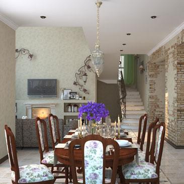 дизайн интерьера дома заказать москва