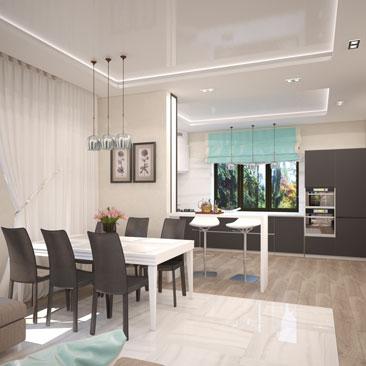 дизайн интерьера дома в москве