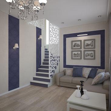 Галерея дизайн-проектов лестниц.