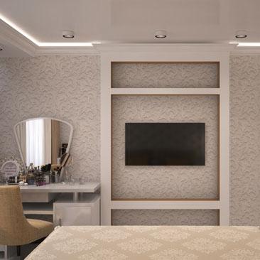 Дизайн спальни - интерьер, проект.