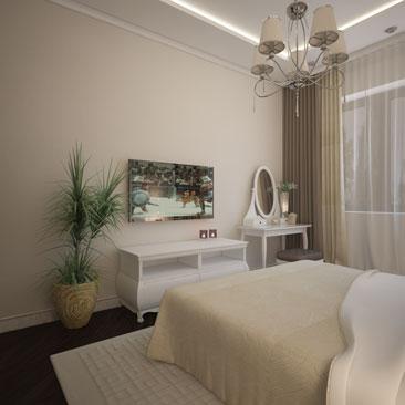 Дизайн интерьера спальни Воронеж.