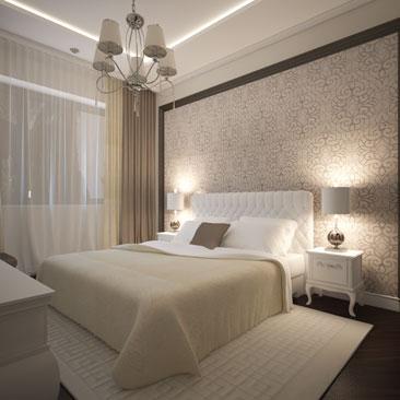 Дизайн интерьера спальни в Москве