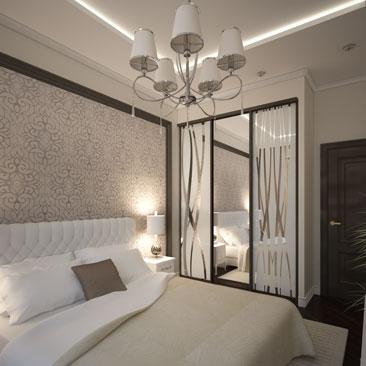 Дизайн интерьера спальни Москва