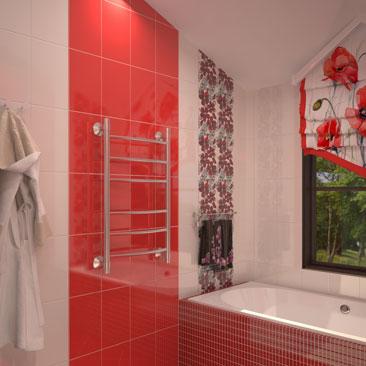 Дизайн ванной комнаты.