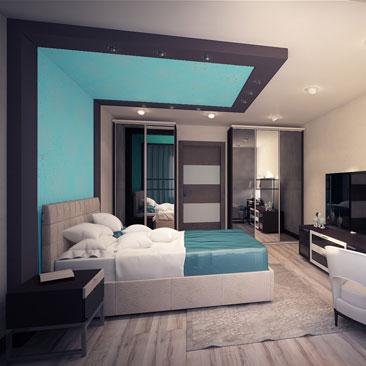Дизайн интерьеров спален Москва