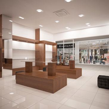 Проектирование интерьеров магазинов Москва