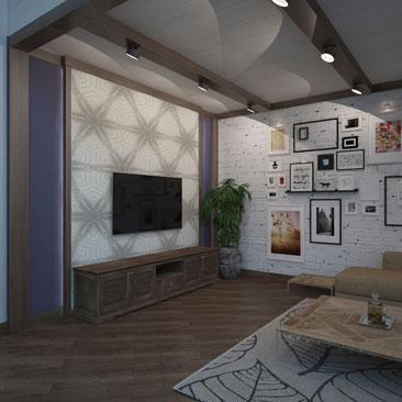 Дизайн интерьера коттеджа в Воронеже