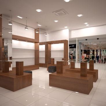 Дизайн проекты магазинов обуви.