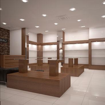 Дизайн интерьера обувного магазина фото
