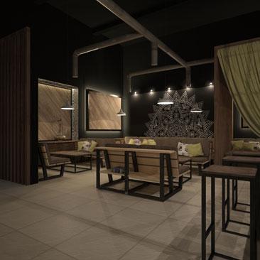 Дизайн кальянного кафе фотографии дизайна.