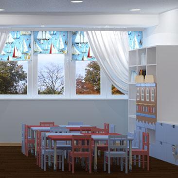 Дизайн группы детского сада фото.