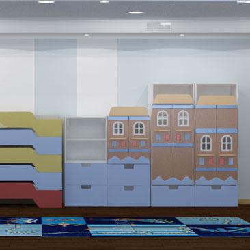 Портфолио дизайнеров: дизайн детского сада с фото.