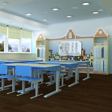 Креативный дизайн интерьера детских садов - фото.