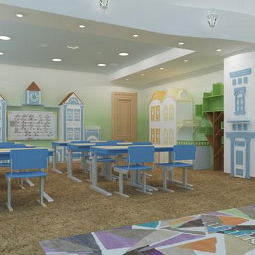 Дизайн детского сада в Москве: цены на услуги дизайнеров.