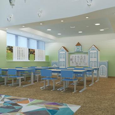 Дизайн проекты интерьеров детских садов – студия дизайна Поиск Интерьерных Решений.