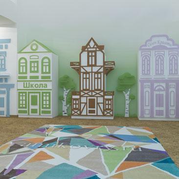 Примеры дизайна интерьера частного детского сада по системе монтессори.