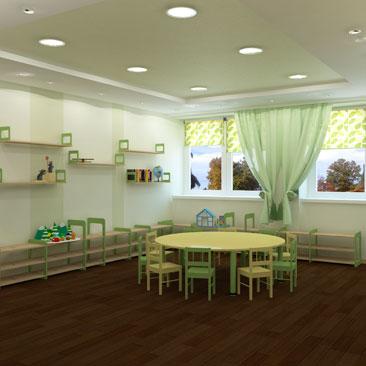 Монтессори центр развития - дизайн-проект интерьеров.