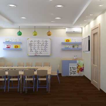 Разработка дизайн-проекта семейного клуба.