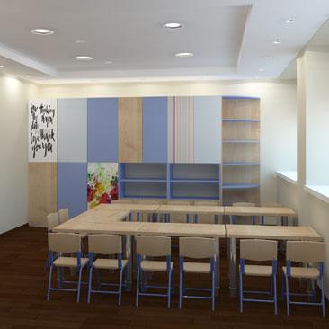 Центр семейного досуга - дизайн-проект.
