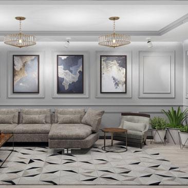 Стильные дизайны гостиных - портфолио профессиональных дизайнеров.