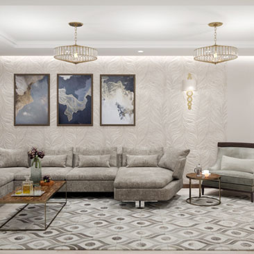 Профессиональные дизайн-проекты гостиных комнат - фото.