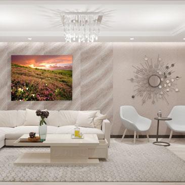 Галерея дизайна гостиных - фото проектов.