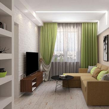 Интерьер гостиной - фото и лучшие идеи.