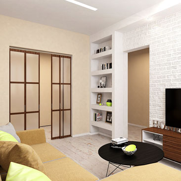 Дизайн интерьер гостиной. Квартиры. Фото.