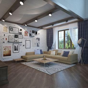 Дизайн интерьеров залов - фото.
