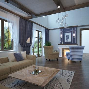 Фото гостиных - дизайн-проекты.