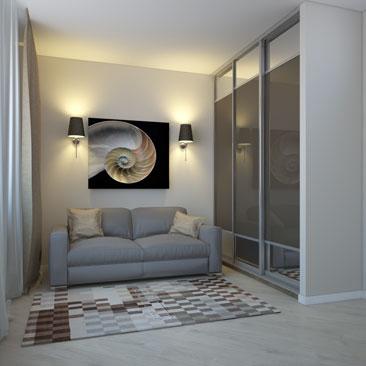 Фото интерьеров гостевых комнат и спален.