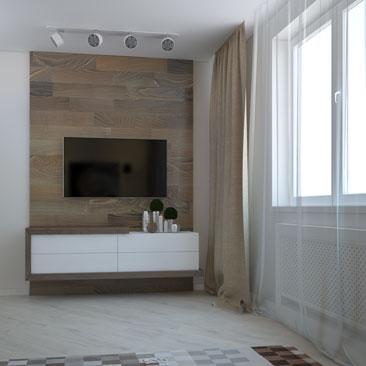 Дизайн гостевой комнаты. Разработка проекта интерьера.